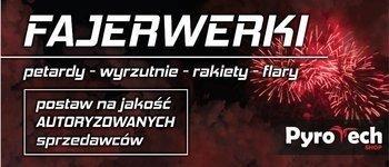 BANER FAJERWERKI DUŻY V2 - 350cm x 150cm - BAN-350X150-2