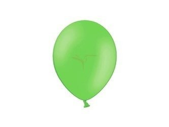 Balony Celebration 23 cm - zielone jabłuszko - 100 szt.