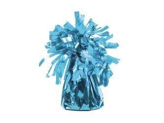 Ciężarek do balonów foliowy - błękit - 4 szt.