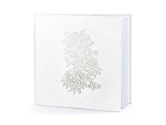 Księga Gości Piwonie - 20,5 x 20,5 cm - 22 kartki