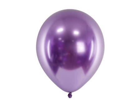 Balony Glossy 30 cm - fiolet - 50 szt.